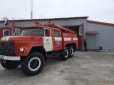 В поселке Поныри Курской области открыли современную пожарную часть