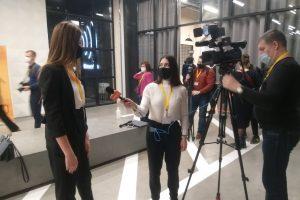 Корреспондент «Курской правды» на пресс-конференции Путина