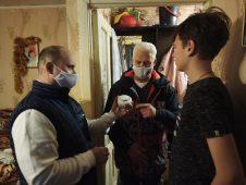 Дома курских многодетных семей подключили к системе безопасности