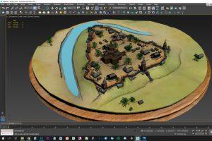 Куряне создали  3D-макет Курской крепости