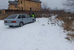 Курские полицейские помогли оставшейся без бензина автоледи