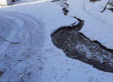 В Курске сливают канализационные воды на памятник природы