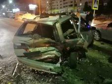 В Курской области в ДТП столкнулись пять автомобилей