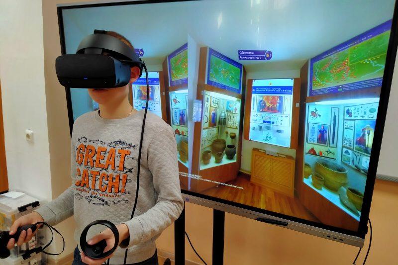 Курский школьник создал виртуальную экскурсию для музея археологии