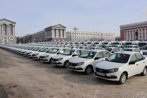 Полицейские получили  129 автомобилей