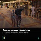 На благоустройство Курской области направят более 3,6 миллиарда рублей