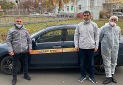 В Курской области автоволонтеры отвезли медиков на 8 тысяч вызовов