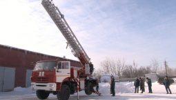 Курские спасатели получили автолестницу