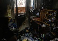 В Курске из горящей квартиры эвакуировали 4 человека