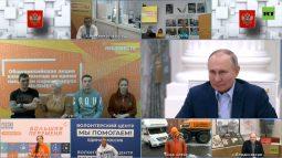 Владимир Путин поблагодарил курских волонтеров-медиков