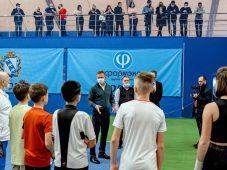 В Курске начала работать детская академия тенниса