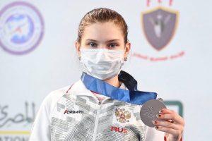 Курская рапиристка стала призёром кадетского первенства мира по фехтованию