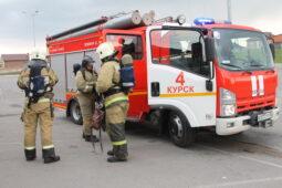 За месяц курские спасатели спасли из огня 27 человек