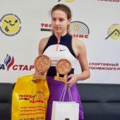 Курянка завоевала два золота на Всероссийском турнире по теннису