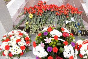 В годовщину чернобыльской аварии куряне провели памятный митинг в Курчатове