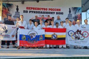 Куряне стали призёрами первенства России по рукопашному бою