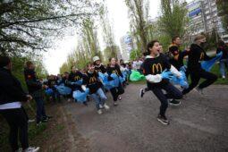 В Курске в Поповском лесу собрали 2,5 тонны мусора