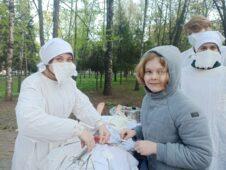 В Курске развернули «военный госпиталь»