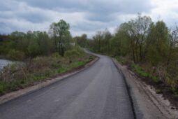 В районе Курской области отремонтировали 4 автодороги