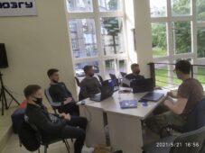 В курском хабе идет первый хакатон IT-специалистов