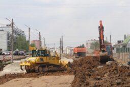 В Курске дорогу на Бойцов 9-й Дивизии расширят до четырех полос