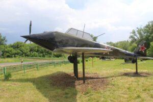 «Летающий танк» приземлился  в деревне
