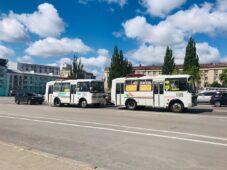 В Курске пустят дополнительный общественный транспорт