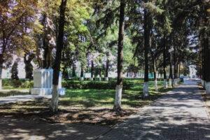 Благоустроят парк Юных пионеров