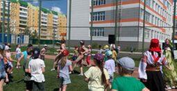 В Курске завершили работу школьные лагеря с дневным пребыванием