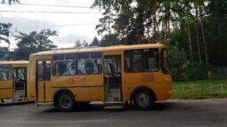 В районы Курской области поступило 6 новых школьных автобусов
