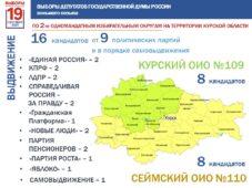 В Курской области завершилось выдвижение кандидатов на выборы в Госдуму
