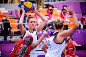 Курянки в составе сборной России по баскетболу прошли в полуфинал Олимпиады