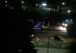 В Курской области пьяный сотрудник МВД попал в аварию