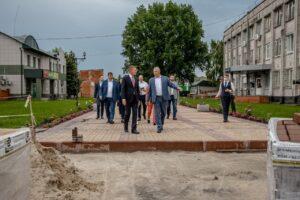 В Глушково преобразятся парк и площадь