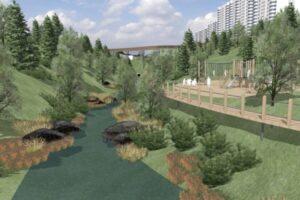 В парке «Родники»  создадут доступную среду