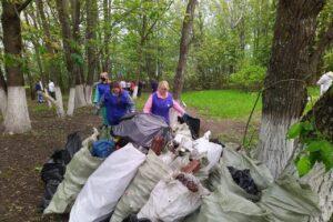 В «Дни защиты от экологической опасности» куряне ликвидировали 134 свалки