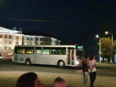 В Курске проверяют, как ходит общественный транспорт вечером