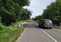 В Глушковском районе Курской области восстановили разрушенную дорогу