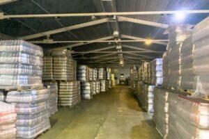 В Курске нашли море левого пива