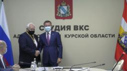 В Курской области впервые вручили «Орден Почета» Николаю Жеребилову