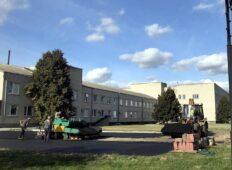 В Курской области на территории больницы появилась вертолётная площадка