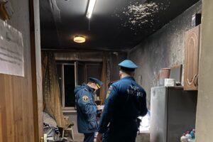 В Курске при пожаре в общежитии эвакуировали 400 человек