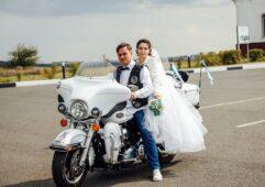 В Курской области фатежане сыграли байкерскую свадьбу