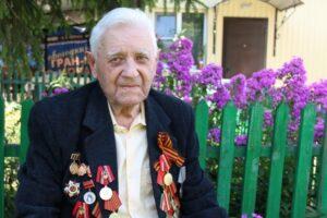 Участнику Курской битвы – 98 лет