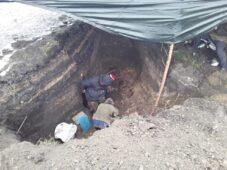 В Курской области обнаружили останки 20 советских воинов