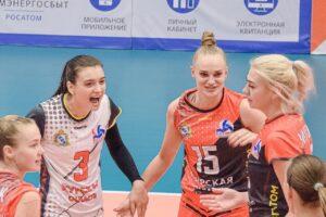 Курские волейболистки проводят домашние игры Высшей лиги «А»