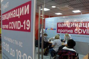 В пункты вакцинации в торговых центрах Курска можно попасть без QR-кода