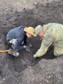 В Курской области найдены останки 132 советских солдат