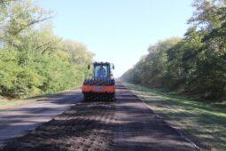 В Курской области обновляют проезжую часть трассы «Обоянь – Суджа»