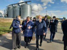 В Курской области приостановили работу комбикормового завода в селе Гирьи